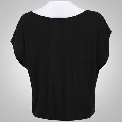 Camiseta Cropped Oxer Now - Feminina