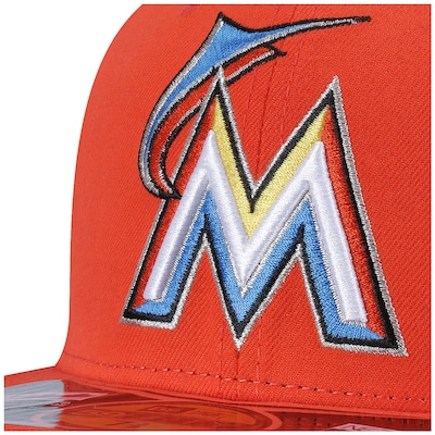 Boné Aba Reta New Era Miami Marlins - Fechado - Adulto