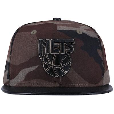Boné Aba Reta New Era New Jersey Nets - Fechado - Adulto