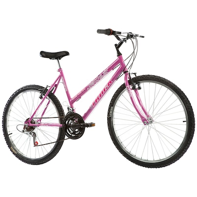 Bicicleta Track e Bikes Serena Cest - Aro 26 - Freio V-Brake - 18 Marchas - Feminina