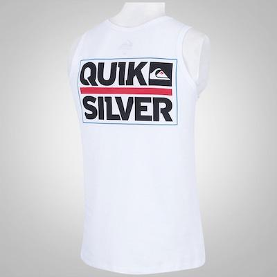 Camiseta Regata Quiksilver Castle LS - Masculina