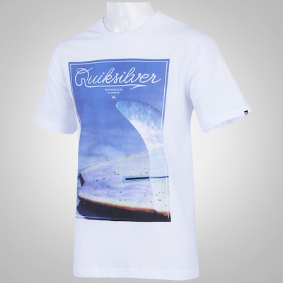Camiseta Quiksilver Fin Box - Masculina