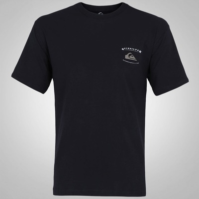 Camiseta Quiksilver Black Stroke - Masculina