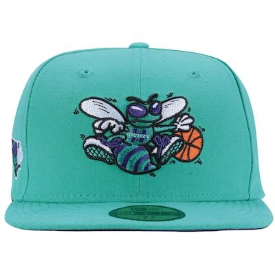 Boné Aba Reta New Era Charlotte Hornets - Fechado - Adulto