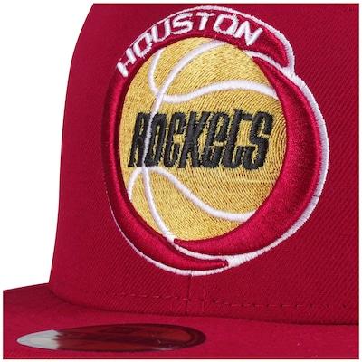 Boné Aba Reta New Era Houston Rockets - Fechado - Adulto