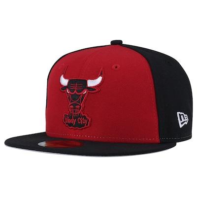 Boné Aba Reta New Era Chicago Bulls - Fechado - Adulto