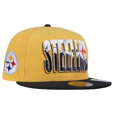 Boné Aba Reta New Era Pittsburgh Steelers - Fechado - Adulto