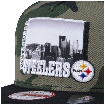 Boné Aba Reta New Era Pittsburgh Steelers - Snapback - Adulto
