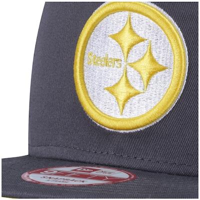 Boné Aba Reta New Era Pittsburgh Steelers NFL - Snapback - Adulto