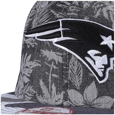 Boné Aba Reta New Era New England Patriots - Snapback - Trucker - Adulto