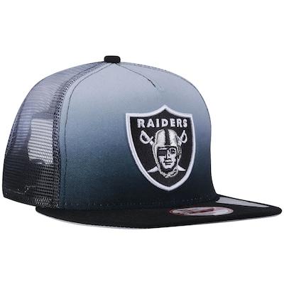 Boné Aba Reta New Era Oakland Raiders - Strapback - Trucker - Adulto