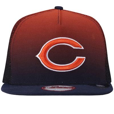 Boné Aba Reta New Era Chicago Bears - Strapback - Trucker - Adulto