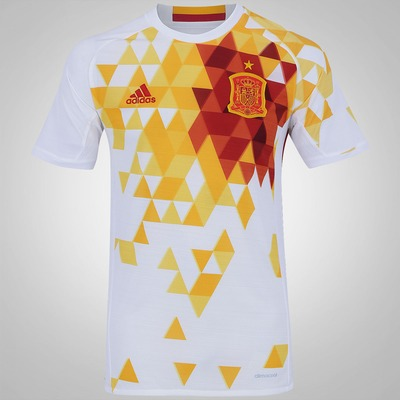 Camisa Espanha II 2016 adidas - Masculina