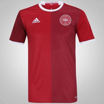 Camisa Dinamarca I 2016 adidas - Masculina
