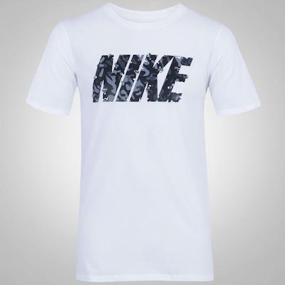Camiseta Nike Camo Spill - Masculina