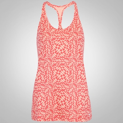 Camiseta Regata Nike Get Fit Checker - Feminina