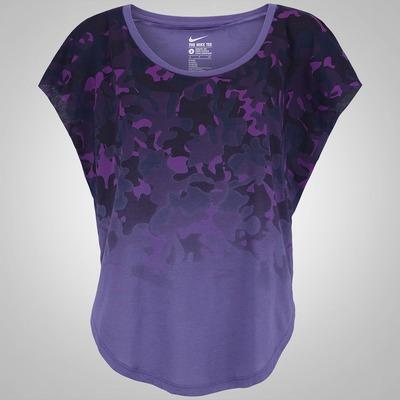 Camiseta Nike Sign Dip Dye Camo - Feminina