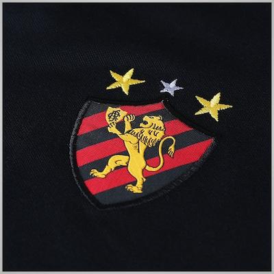 Camisa Polo de Viagem Braziline Sport Club do Recife Piquet - Masculina
