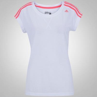 Camiseta adidas Essentials 3S - Feminina