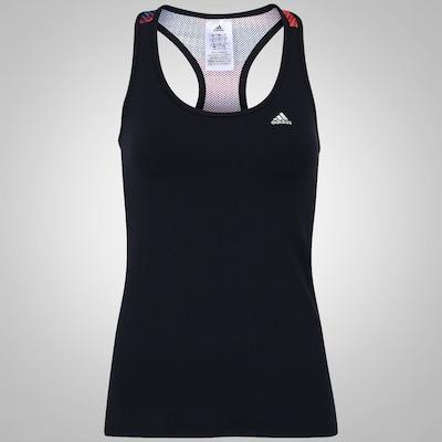 Camiseta Regata com Fator de Proteção UV 50+ adidas Graf I Wolk Salinas - Feminina
