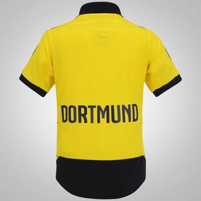 Camisa Borussia Dortmund I 15/16 s/nº Puma - Infantil