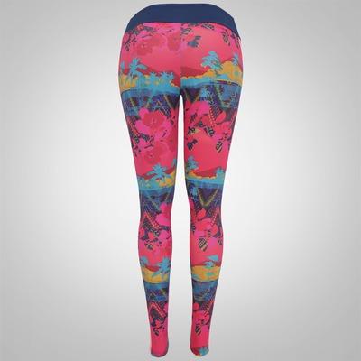 Calça Legging com Fator de Proteção UPF50+ adidas Graf II Salinas - Feminina