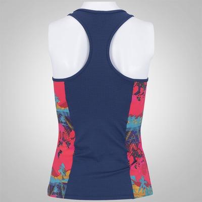 Camiseta Regata com Fator de Proteção Solar UPF50+ adidas Graf II Wolk Salinas - Feminina