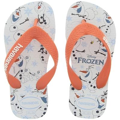 Chinelo Havaianas Top Olaf Frozen - Infantil