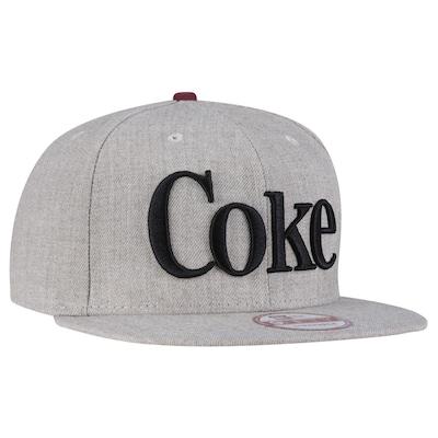 Boné Aba Reta New Era Coca-Cola Coke Especial- Stapback- Adulto