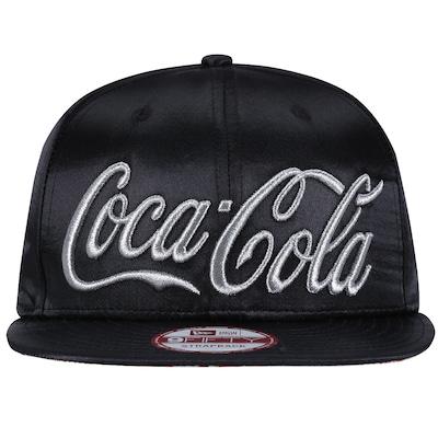 Boné Aba Reta New Era Coca-Cola 950- Strapback- Adulto