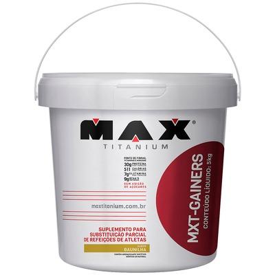 Hipercalórico Max Titanium MXT Gainers - Baunilha - 5kg