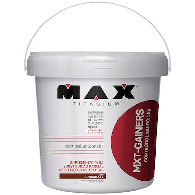 Hipercalórico Max Titanium MXT Gainers - Sabor Chocolate - 5 Kg