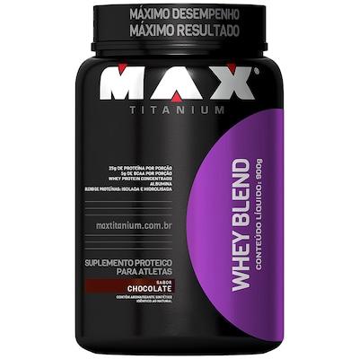 Whey Blend - 900 g - Sabor Chocolate - Max Titanium