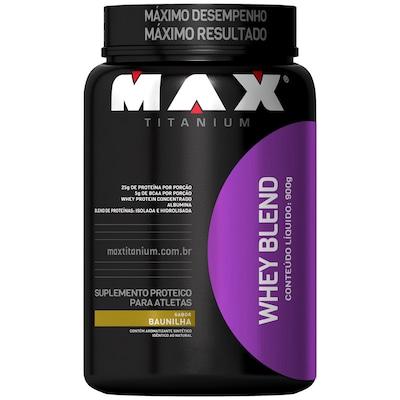 Whey Blend- 900 g - Sabor Baunilha - Max Titanium