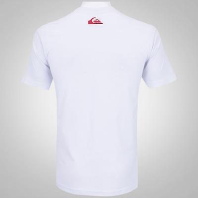 Camiseta Quiksilver Disco Sign - Masculina