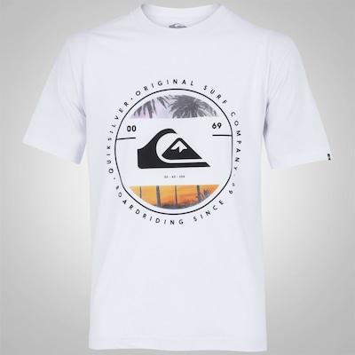 Camiseta Quiksilver Betwenn The Lines - Masculina