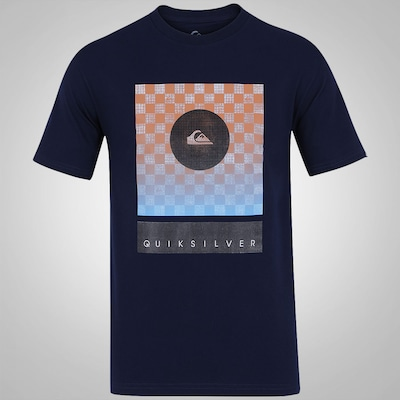 Camiseta Quiksilver Checkers Never Die - Masculina