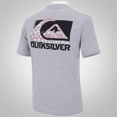 Camiseta Quiksilver Crossin Logo - Masculina