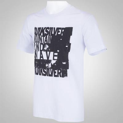 Camiseta Quiksilver Block - Masculina