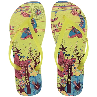 Chinelo Ipanema I Love Arts - Feminino