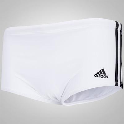 Sunga Boxer adidas 3S Infinitex Lateral Larga - Adulto