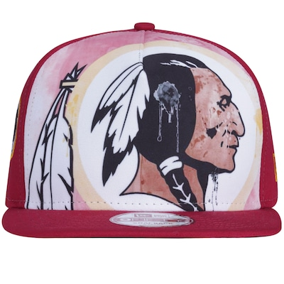 Boné Aba Reta New Era Washington Redskins - Snapback - Adulto