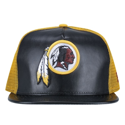 Boné Aba Reta New Era Washington Redskins - Strapback - Trucker - Adulto