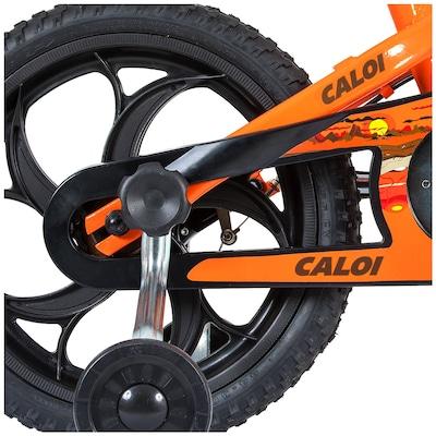 Bicicleta Caloi Power Rex - Aro 16 - Freio V-Brake - Infantil