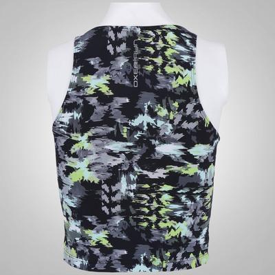 Blusa Cropped Regata Oxer Print - Feminina