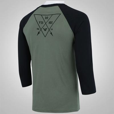 Camiseta com Manga ¾ Vibe VT428 - Masculina