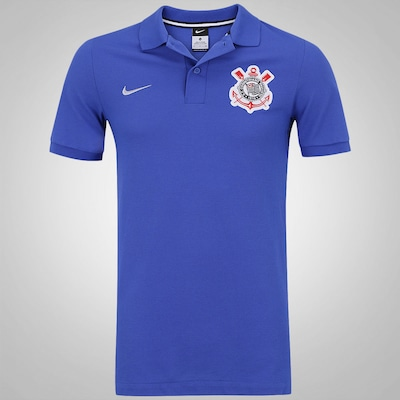 Camisa Polo do Corinthians 2016 Authentic Nike - Masculina