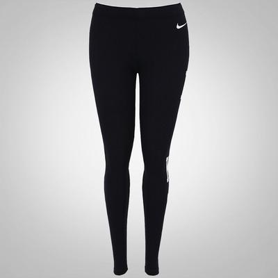 Calça Legging Nike Club Logo - Feminina