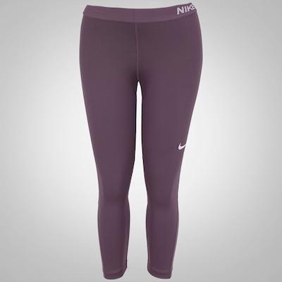 Calça Capri de Suave Compressão Nike Pro Cool - Feminina