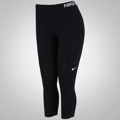 Calça Capri de Suave Compressão Nike Pro Hypercool - Feminina